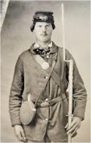 "Image result for civil war soldier ""small US buckle"""""